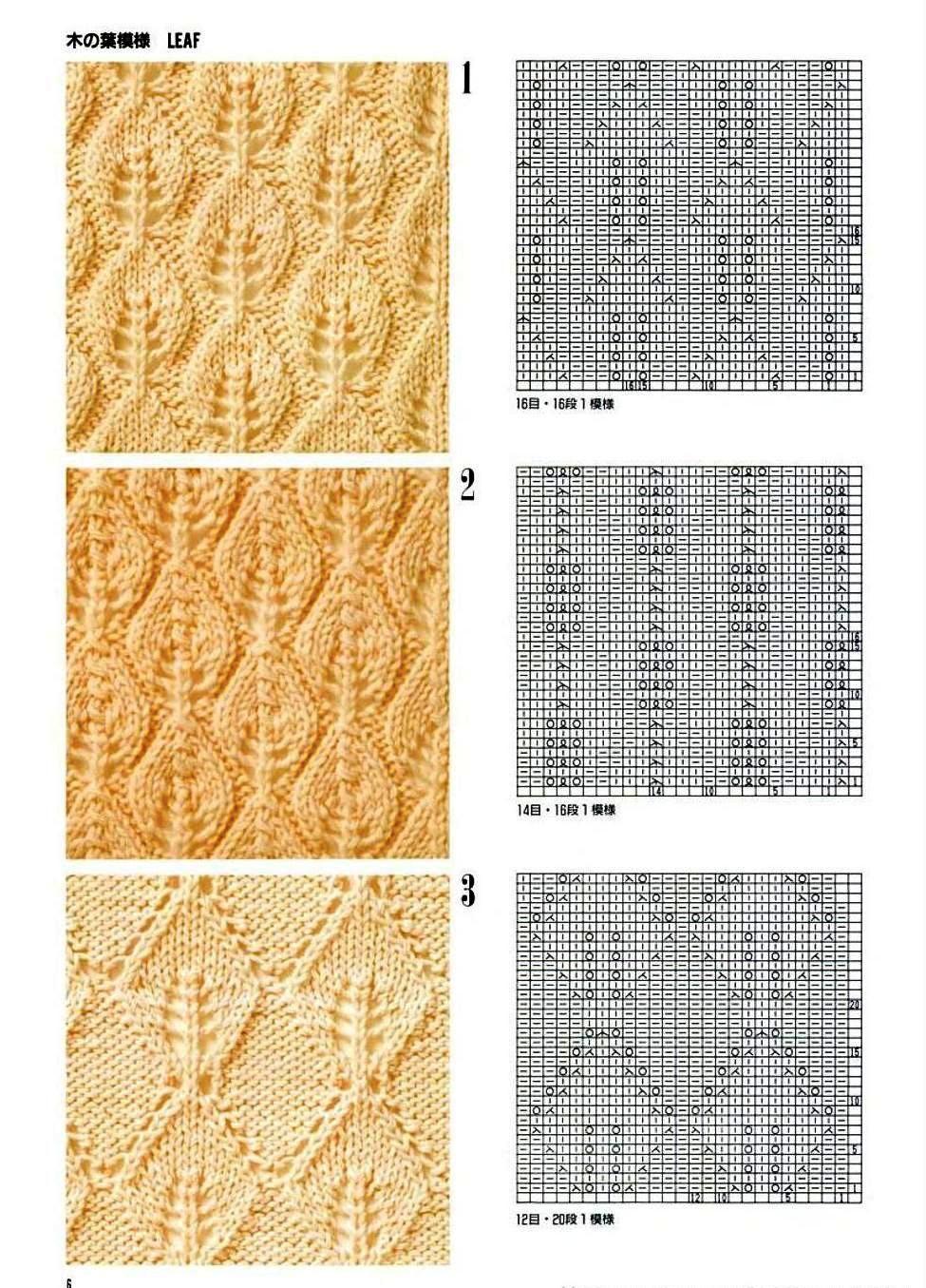 Каталог вязаных спицами узоров узоров для вязания на спицах ирландские 56