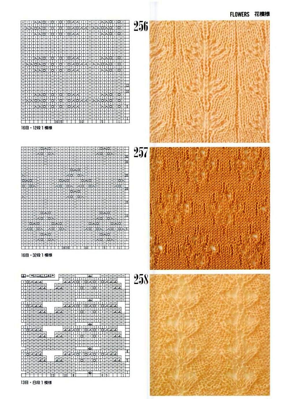 Каталог вязаных спицами узоров узоров для вязания на спицах ирландские 30
